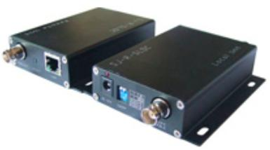 IP and Analog Over Coaxial Transceiver, (2)
