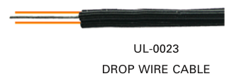 LINK, DROP WIRE with Passenger 2 Core, 19 AWG ( 0.91 mm.)